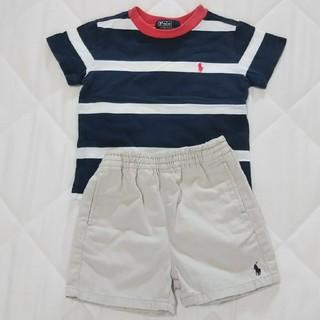 ラルフローレン(Ralph Lauren)のラルフローレン 男の子 80 Tシャツ 短パン セット まとめ売り(パンツ)
