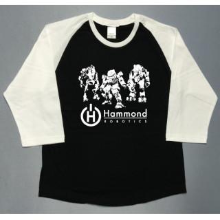ロボット イラスト hammond 七分袖ラグラン utn314(Tシャツ/カットソー(七分/長袖))