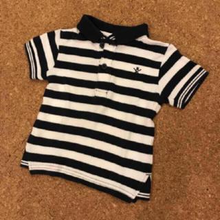 ネクスト(NEXT)の♡NEXT♡オシャレ 美品 半袖 ポロシャツ 70 ボーダー 子供 ベビー (Tシャツ)