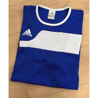 アディダス(adidas)のadidasTシャツ☆美品(Tシャツ/カットソー(半袖/袖なし))