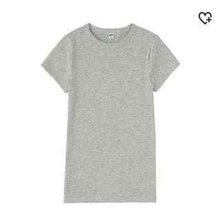 ユニクロ(UNIQLO)のリブクルーネックT(Tシャツ(半袖/袖なし))
