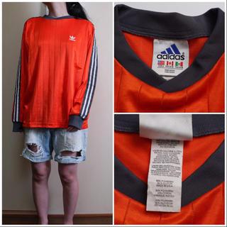 アディダス(adidas)のアディダス ビンテージゲームシャツ(Tシャツ/カットソー(七分/長袖))