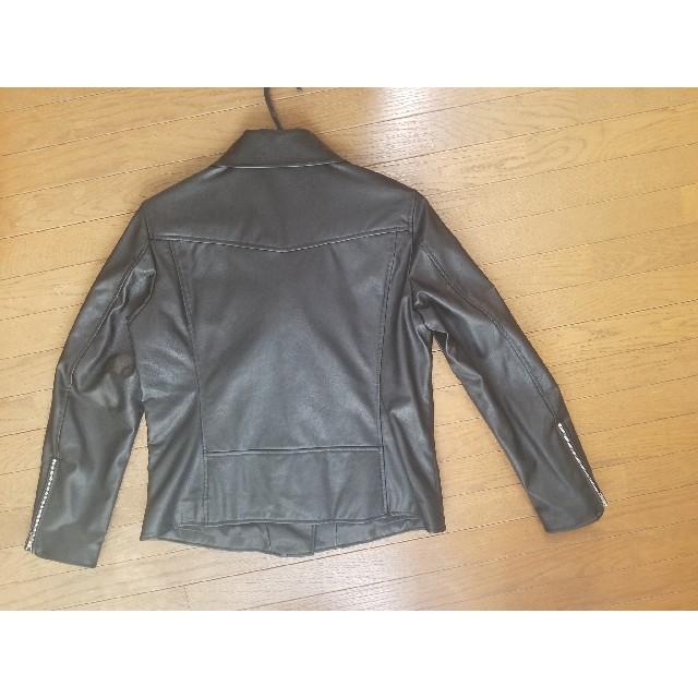 UNIQLO(ユニクロ)の<値下げ>ライダースジャケット レディースのジャケット/アウター(ライダースジャケット)の商品写真