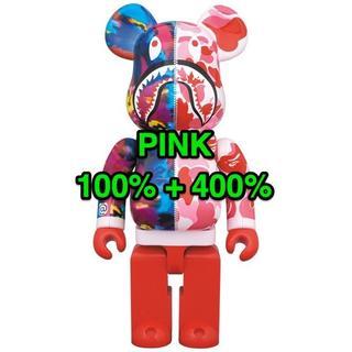 アベイシングエイプ(A BATHING APE)の100%+400% PINK BE@RBRICK mika ninagawa(その他)