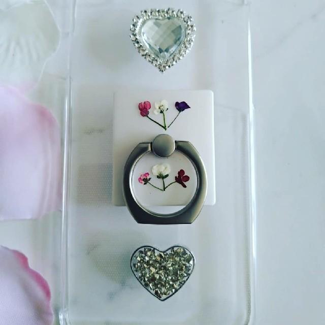 シャネル 香水瓶 iphoneケース / iPhoneケース ハンドメイド アリッサムの押し花の通販 by RSI's shop|ラクマ