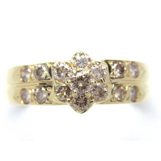 K18 ダイヤモンド 0.55ct リング(リング(指輪))