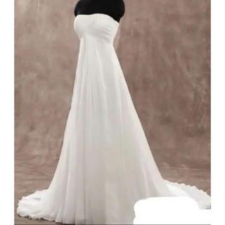 5e3d708fbf177 ウェディングドレス♡エンパイア♡アロヒナ(ウェディングドレス)