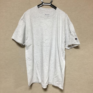 チャンピオン(Champion)の新品 Champion 半袖Tシャツ アッシュグレー XL(Tシャツ/カットソー(半袖/袖なし))