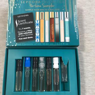 セフォラ(Sephora)のSEPHORA FAVORITES 香水 7本 お試しセット(香水(女性用))