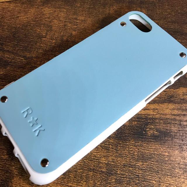 本革 iPhone7/8/X/XS/XR スカイブルー iPhoneケースの通販 by trk.studio|ラクマ