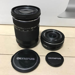 OLYMPUS - olympus 14-42+40-150ダブルレンズキット。