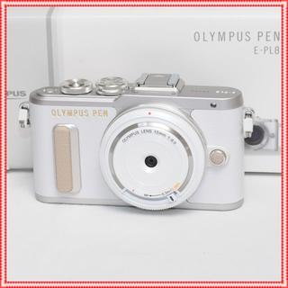 OLYMPUS - 激安特価♪✨新品✨オリンパス PEN E-PL8レンズset ✨ホワイト✨