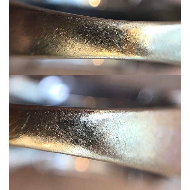 ホワイトゴールド リング K18WG(90013547) メンズのアクセサリー(リング(指輪))の商品写真