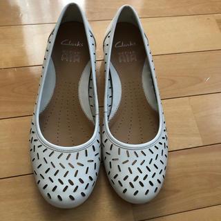 クラークス(Clarks)の涼しげな、靴(ローファー/革靴)