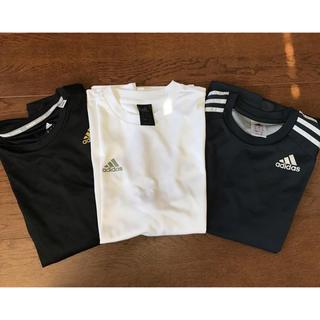 アディダス(adidas)のadidasメンズTシャツ M(Tシャツ/カットソー(半袖/袖なし))