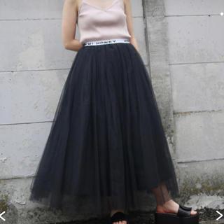 HONEY MI HONEYロゴチュールスカート