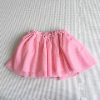 125563c3427dab ベビーギャップ(babyGAP)のbaby GAP チュールスカート ピンク(スカート)