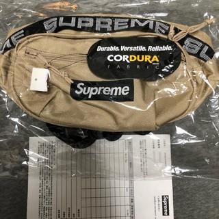 Supreme - supreme 18ss waist bag tan