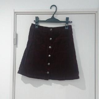 ローリーズファーム(LOWRYS FARM)のLOWRYSFARM コーデュロイスカート(ミニスカート)
