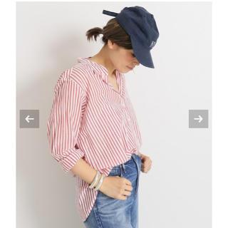 ドゥーズィエムクラス(DEUXIEME CLASSE)の美品 Deuxime Classes XIRENAシャツ(シャツ/ブラウス(長袖/七分))
