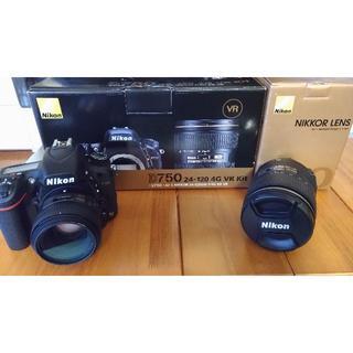 Nikon -  ニコン D750 24-120VR レンズキット