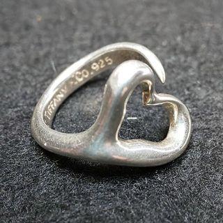 ティファニー(Tiffany & Co.)のティファニー オープンハートリング SILEVER  925 10号(リング(指輪))