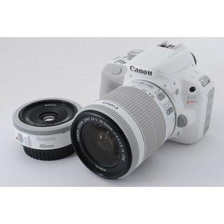 Canon - ✨人気✨CANON EOS Kiss X7 Wレンズキット ✨付属完備✨
