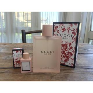 グッチ(Gucci)のGUCCI  BLOOM ボディオイル 100ml & 香水 5ml(ボディオイル)