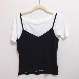 GU - GU ビスチェ&Tシャツ