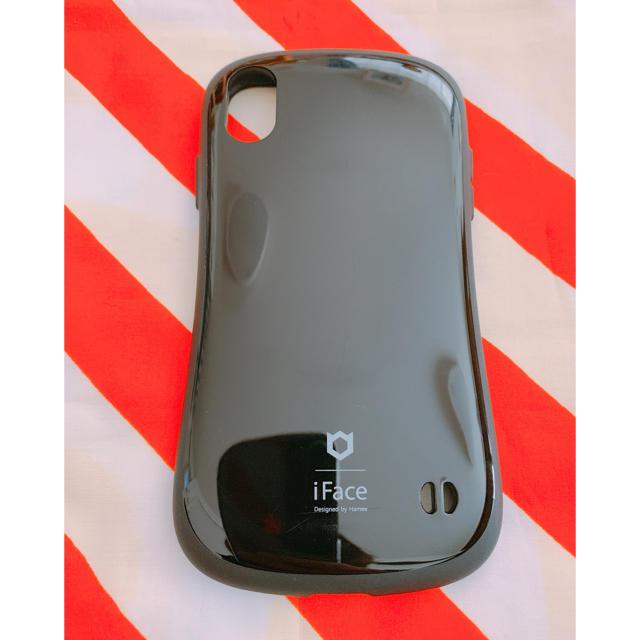 Apple - i Face スマホカバー xr ブラックの通販 by moo's shop|アップルならラクマ