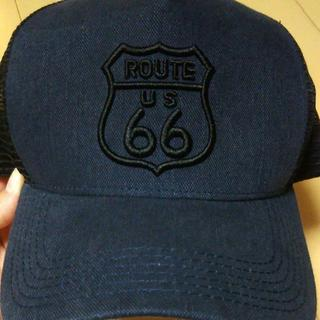 ROUTE66 キャップ アメリカン デニム(キャップ)