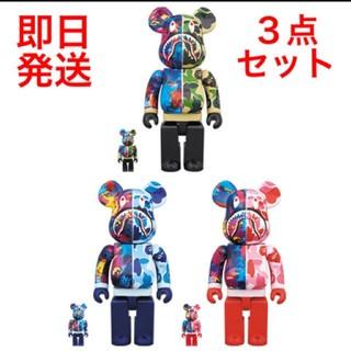 アベイシングエイプ(A BATHING APE)のBAPE x mika ninagawa 100%&400% 3点セット(キャラクターグッズ)