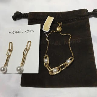 a6e65b78db2d マイケルコース(Michael Kors)の値引きしました 新品未使用 マイケルコース ブレスレット