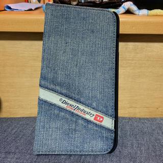 ディーゼル(DIESEL)のDIESEL デニム加工携帯カバー(iPhoneケース)