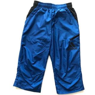 アディダス(adidas)の新品 3888円の品 アディダス CLIMA 3/4 パンツ 130 青(パンツ/スパッツ)