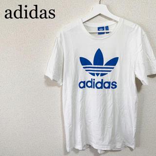 アディダス(adidas)のアディダスオリジナルス  Tシャツ メンズ 白 トレフォイル ビッグロゴ(Tシャツ/カットソー(半袖/袖なし))