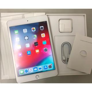 アイパッド(iPad)のiPad mini4 128GB SIMフリー 美品 au docomo SB(タブレット)