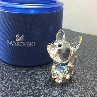 スワロフスキー 犬  ( チワワ )