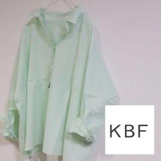 KBF - 新品 KBF シャツ ミント