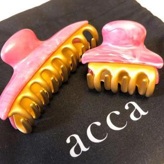 アッカ(acca)のacca ヘアクリップ セット(バレッタ/ヘアクリップ)