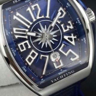 フランクミュラー(FRANCK MULLER)の【最新】最高級 Vanguard Yachting v45 type Blue(腕時計(アナログ))