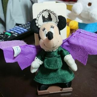 Disney - ミニー ホーンテッドマンション ぬいぐるみ ストラップ★ディズニーランド