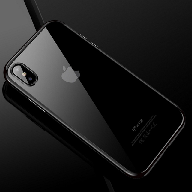 アイフォン6発売予定日 、 アイフォンX/XS iPhoneX/XSソフトケース☆ブラック☆送料無料☆父の日の通販 by ロゴ's shop|ラクマ
