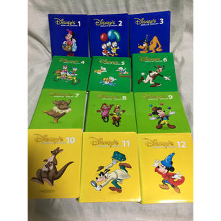 ディズニー(Disney)のディズニー 英語 ストレートプレイ DVD DWE 全12巻セット ブラシ版(キッズ/ファミリー)