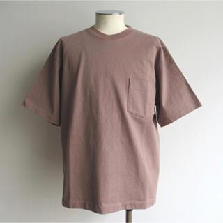 コモリ(COMOLI)の今期未使用 AURALEE STAND-UP TEE(Tシャツ/カットソー(半袖/袖なし))