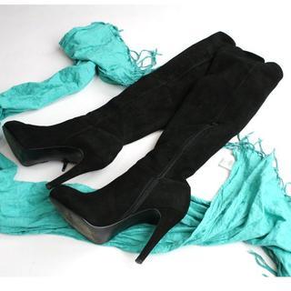 ダイアナ(DIANA)のs.k.g.l.k 様専用ダイアナ DIANA スエードブーツ ニーハイブーツ (ブーツ)