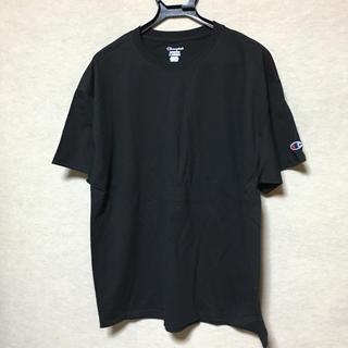 チャンピオン(Champion)の新品 Champion 半袖Tシャツ ブラック XL(Tシャツ/カットソー(半袖/袖なし))