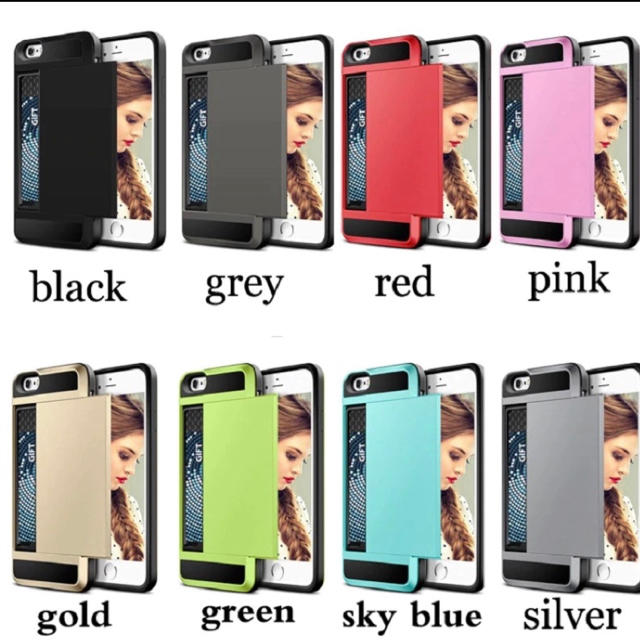 耐衝撃 カード収納 iPhoneケース 最安値の通販 by rossarin0602's shop|ラクマ