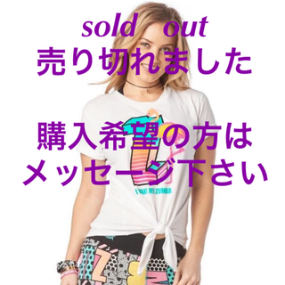 Zumba - ZUMBA☆ズンバ☆Tシャツ☆大人気☆M size☆有名人達とおソロで♡