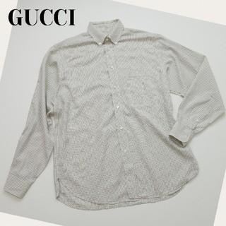 グッチ(Gucci)のメンズ GUCCI  グッチ 39 15 1/2 イタリア製 綿100% シャツ(シャツ)